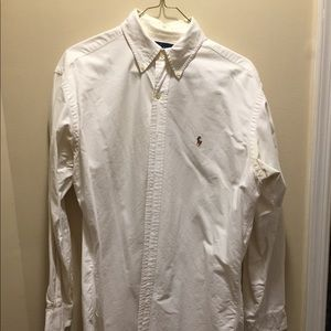 Polo by Ralph Lauren Shirts - White Polo Button Down